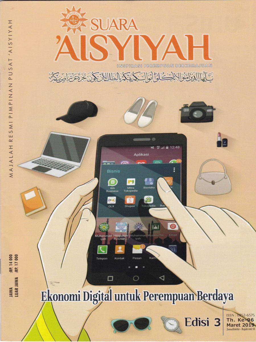 """Edisi 3 Maret 2019 """"Literasi Digital Untuk Akses dan Keberdayaan Ekonomi Perempuan"""""""